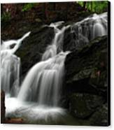 White Mountains Waterfall Canvas Print by Juergen Roth