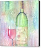 White Zinfandel Canvas Print