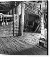 Whitehorse Ranch 3 Canvas Print by Ron Schwager
