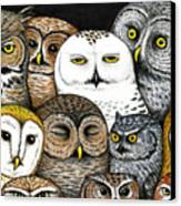 Who's Hoo Canvas Print