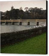 Wicklow Footbridge Canvas Print