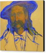Wild Bill Hickok Canvas Print by Johanna Elik