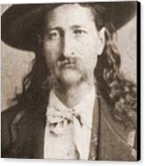 Wild Bill Hickok Was A Celebrated Canvas Print