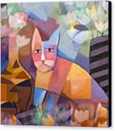 Wild Cat Blues Canvas Print by Lutz Baar