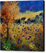 Wild Chicorees 56 Canvas Print