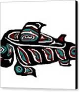 Wild Salmon Canvas Print