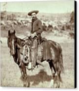 Wild West. The Cow Boy. Sturgis, Dakota Canvas Print by Everett