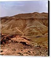 Judean Desert Canvas Print by Atul Daimari