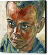 Willful Boy Canvas Print by Xueling Zou