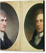 William Clark 1770-1838 And Meriwether Canvas Print