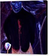 William's Broken Heart Canvas Print