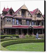 Winchester Mystery House Canvas Print by Daniel Hagerman