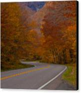 Winding Road Canvas Print by Robert  Torkomian