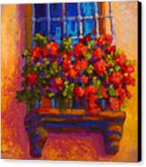 Window Box  Canvas Print by Marion Rose