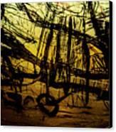 Window Drawing 06 Canvas Print
