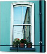 Window In Ennistymon Ireland Canvas Print