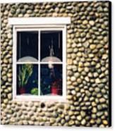 Window In Nova Scotia Canvas Print