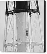 Window Lighthouse Canvas Print