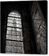 Window To Mont St Michel Canvas Print by Dave Bowman