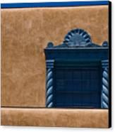 Window To Sante Fe Canvas Print