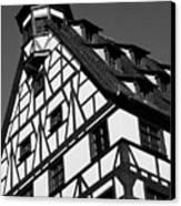 Windows ... Canvas Print by Juergen Weiss
