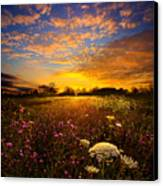 Windsong Canvas Print by Phil Koch