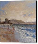 Windy Day At Sea Canvas Print