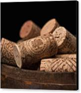 Wine Corks Canvas Print by Tom Mc Nemar