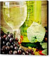 Wine Canvas Print by Darren Fisher