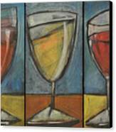 Wine Trio - Option One Canvas Print by Tim Nyberg