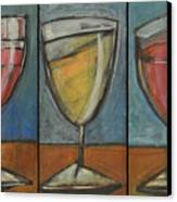 Wine Trio Option 2 Canvas Print by Tim Nyberg