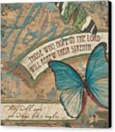 Wings Of Hope Canvas Print by Debbie DeWitt