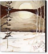 Winter Apex Canvas Print
