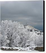 Winter At Shipka Canvas Print