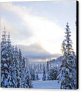 Winter Atmosphere Canvas Print