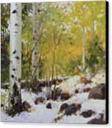 Winter Beauty Sangre De Mountain 2 Canvas Print
