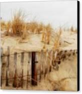Winter Dune - Jersey Shore Canvas Print