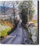 Winter In North Wales Canvas Print by Harry Robertson