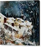 Winter In Vivy  Canvas Print