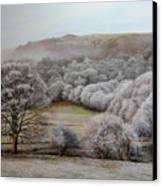 Winter Landscape Canvas Print by Harry Robertson
