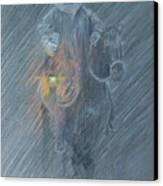 Winter Search Canvas Print