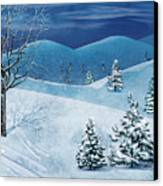 Winter Solstice Canvas Print by Bedros Awak