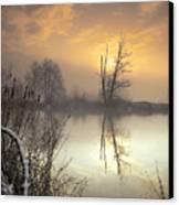 Winter Sunrise Canvas Print by Graham Clark