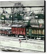 Winter Transport Canvas Print