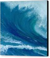 Winter Wave Canvas Print