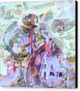 Winters Blast Canvas Print