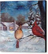 Winters Serenity Canvas Print