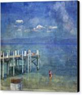 Wish You Were Here Chambers Landing Lake Tahoe Ca Canvas Print