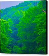 Wissahickon Creek Canvas Print by Bill Cannon