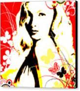 Wistful Flutter Canvas Print